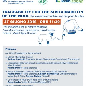 Traceability for the sustainability of the wool