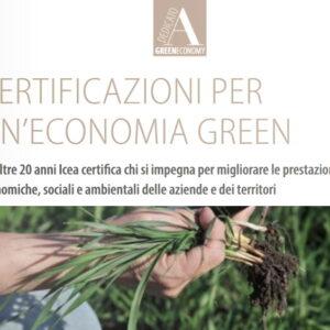 ICEA – Certificazioni per un'economia green