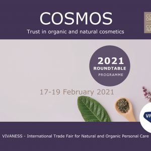 Join us at Vivaness, the largest international trade fair for natural and organic personal care, 17-19 February!