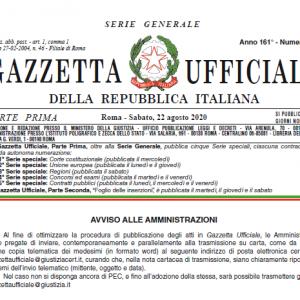 Decreto 17 Luglio 2020 – Istituzione del Fondo per l'emergenza Covid-19