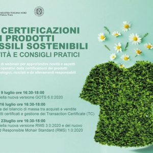 The Certifications of Sustainable Textile Products
