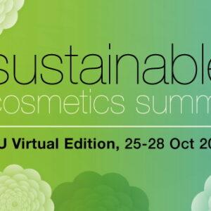 Sustainable Cosmetics Summit: edizione virtuale dal 25 al 28 ottobre 2021