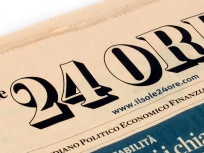 ICEA today on Il Sole 24 Ore newspaper