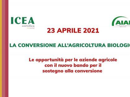 LA CONVERSIONE ALL'AGRICOLTURA BIOLOGICA